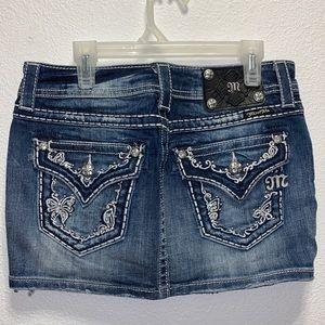 NWOT Miss Me jean skirt
